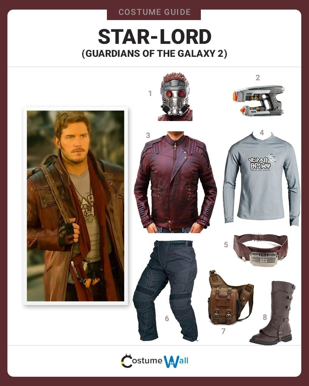 Star-Lord vol. 2 Costume Guide