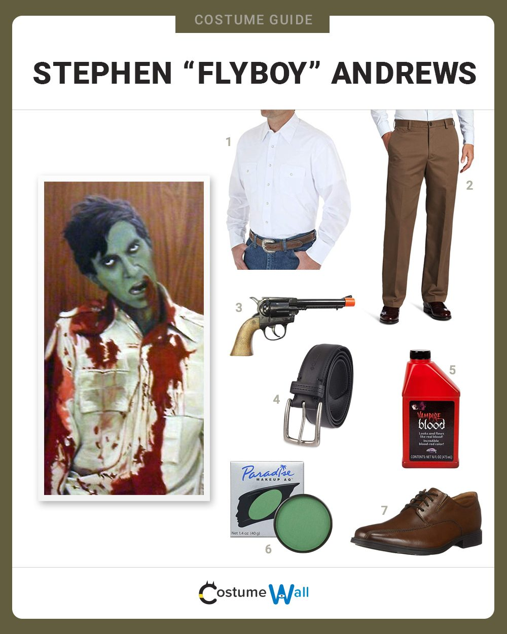 "Stephen ""Flyboy"" Andrews Costume Guide"