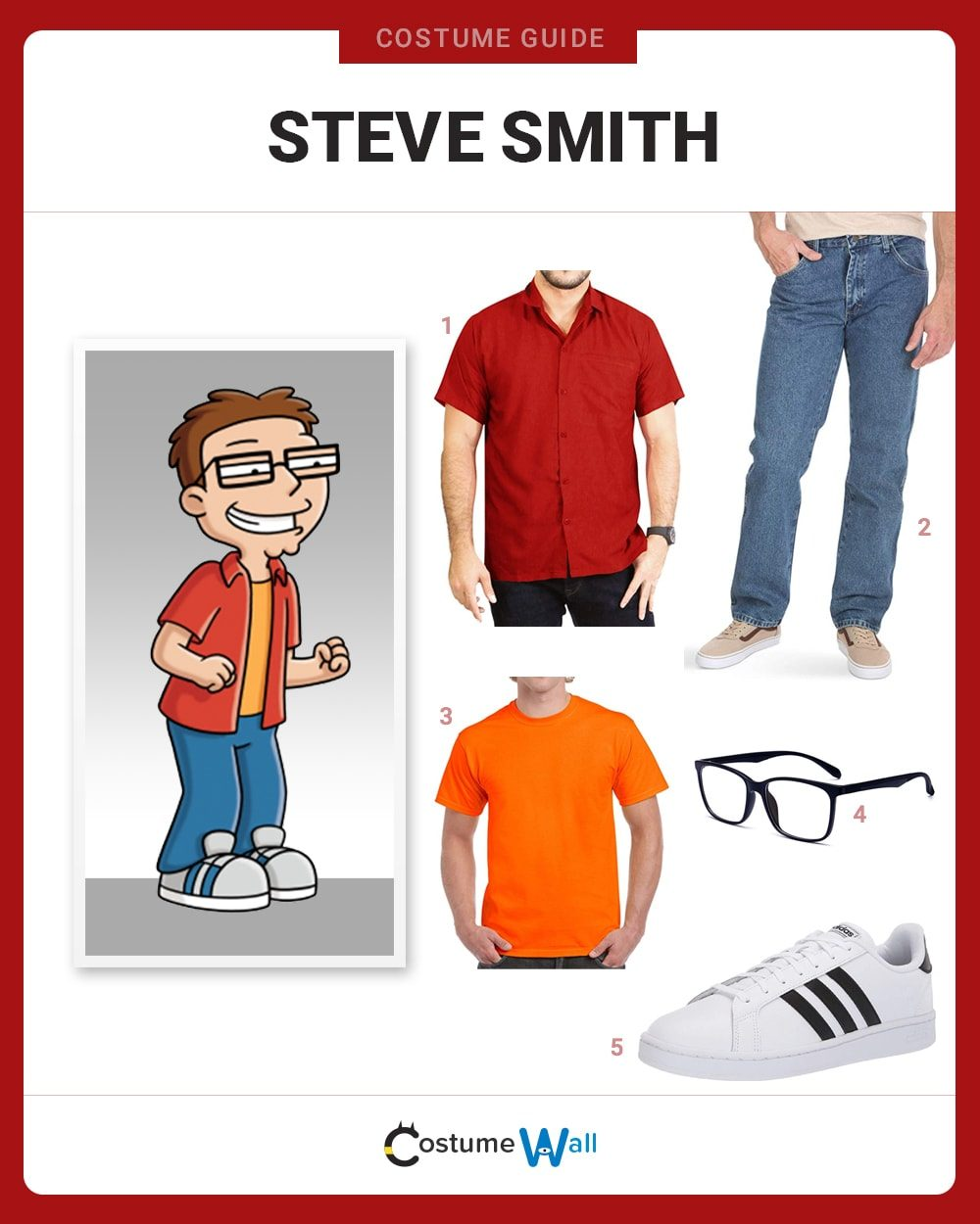 Steve Smith Costume Guide