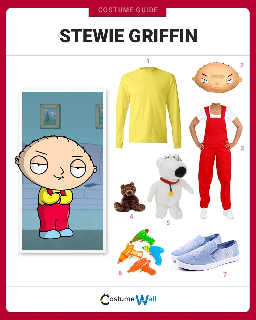 Stewie Griffin Costume Guide