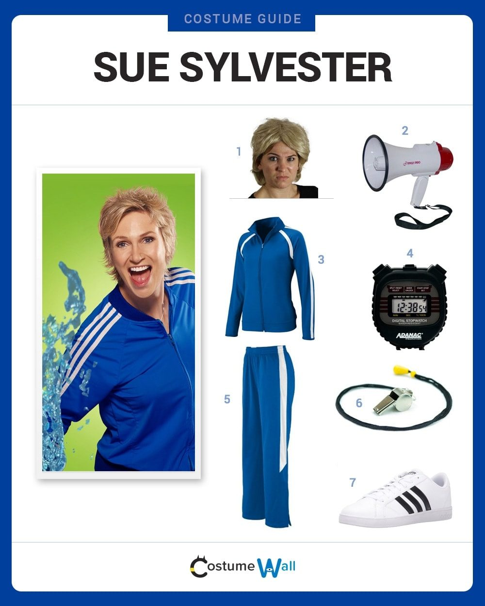 Sue Sylvester Costume Guide