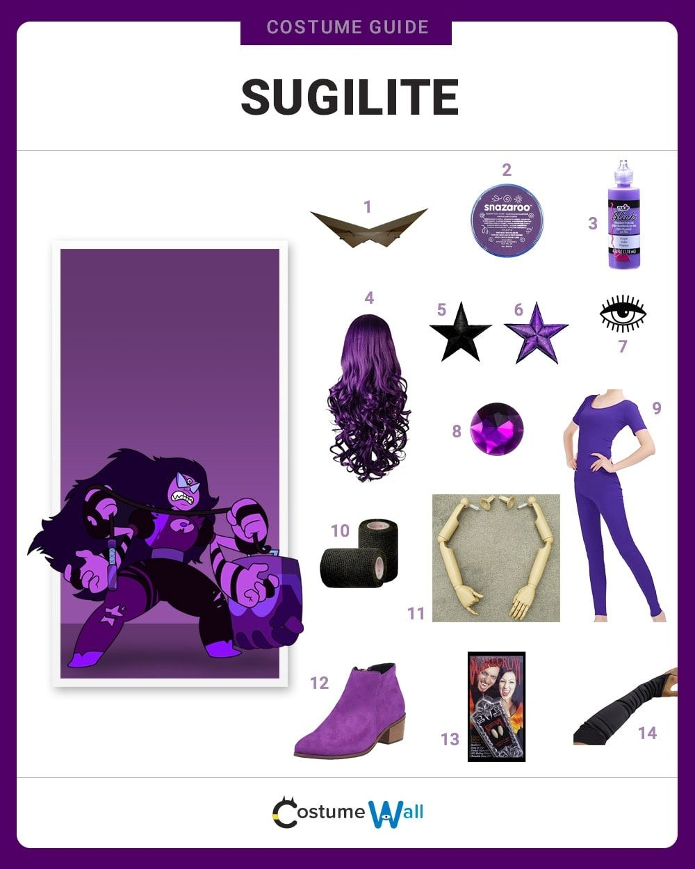 Sugilite Costume Guide