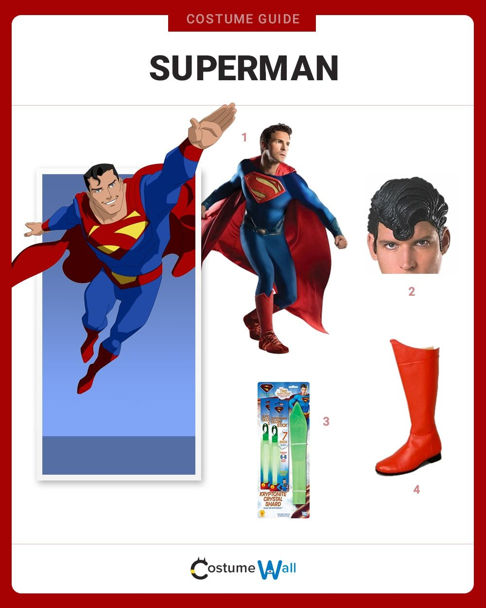 Superman Costume Guide