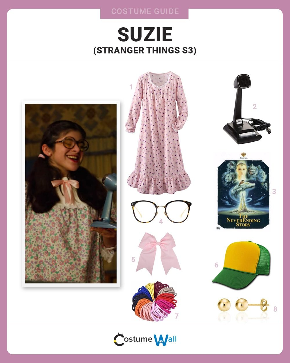 Suzie - Stranger Things Costume Guide