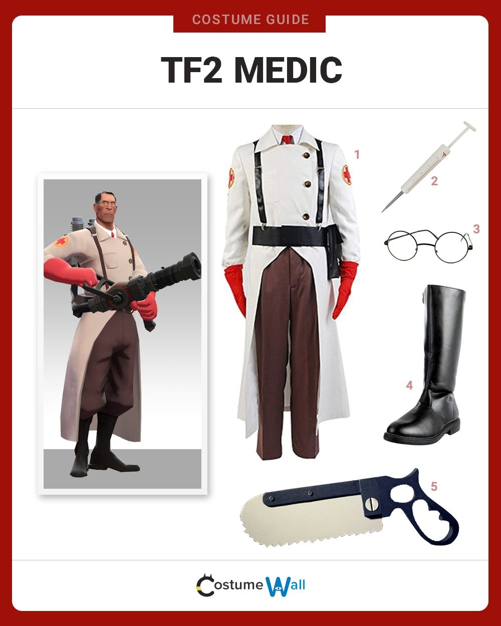 TF2 Medic Costume Guide