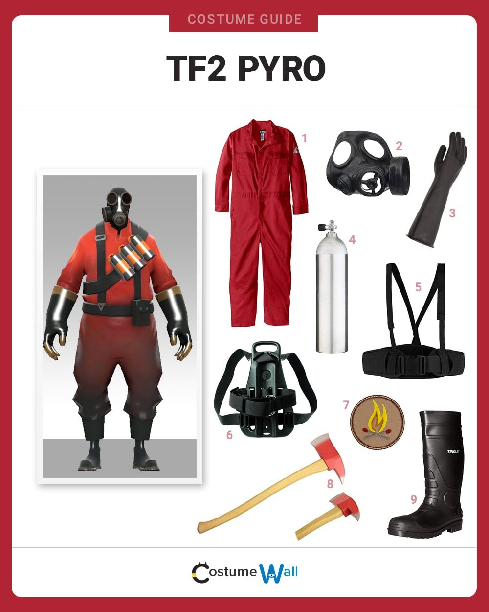 TF2 Pyro Costume Guide