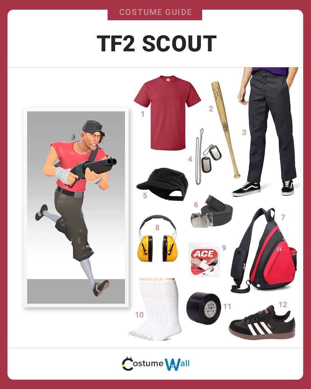 TF2 Scout Costume Guide