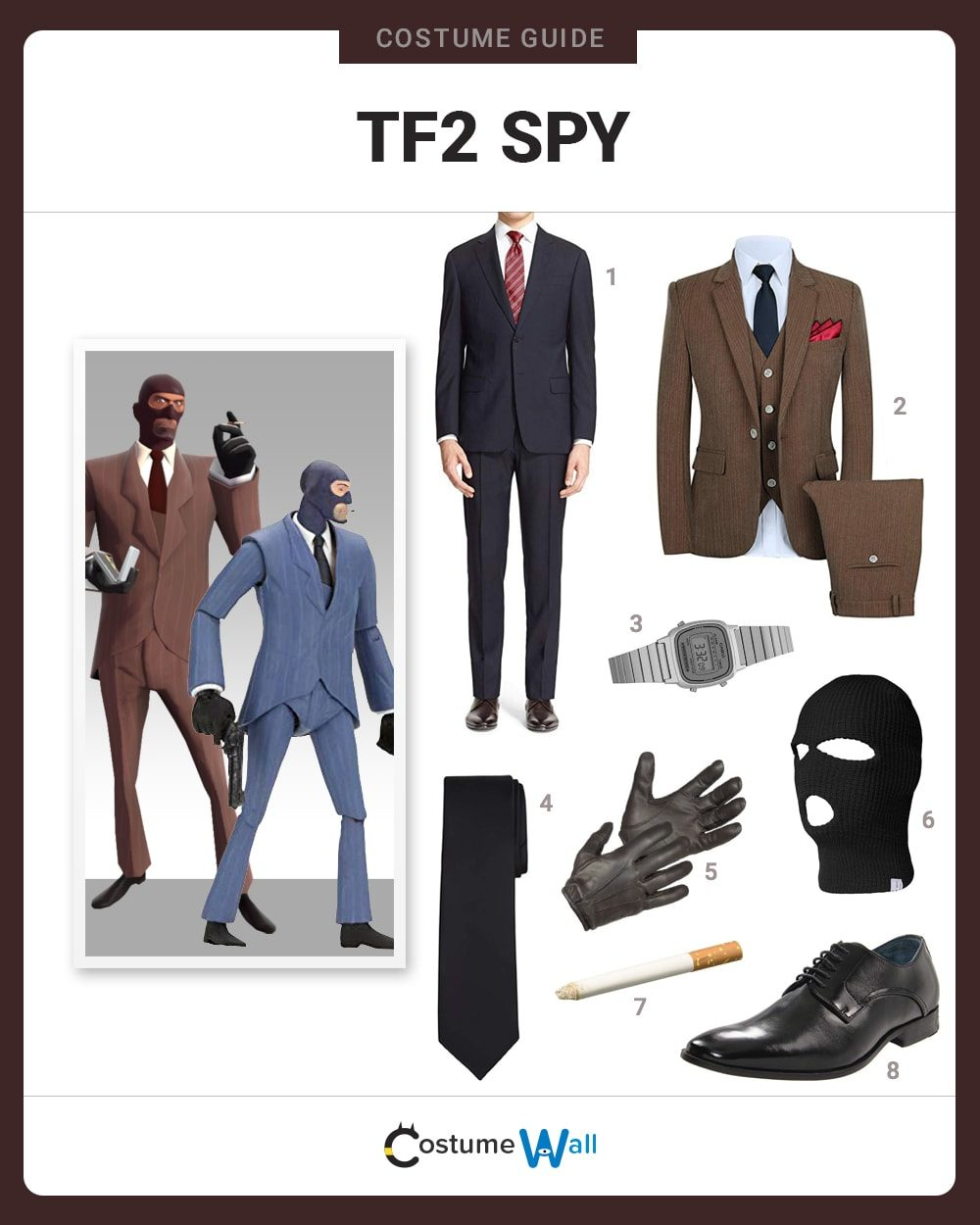 TF2 Spy Costume Guide