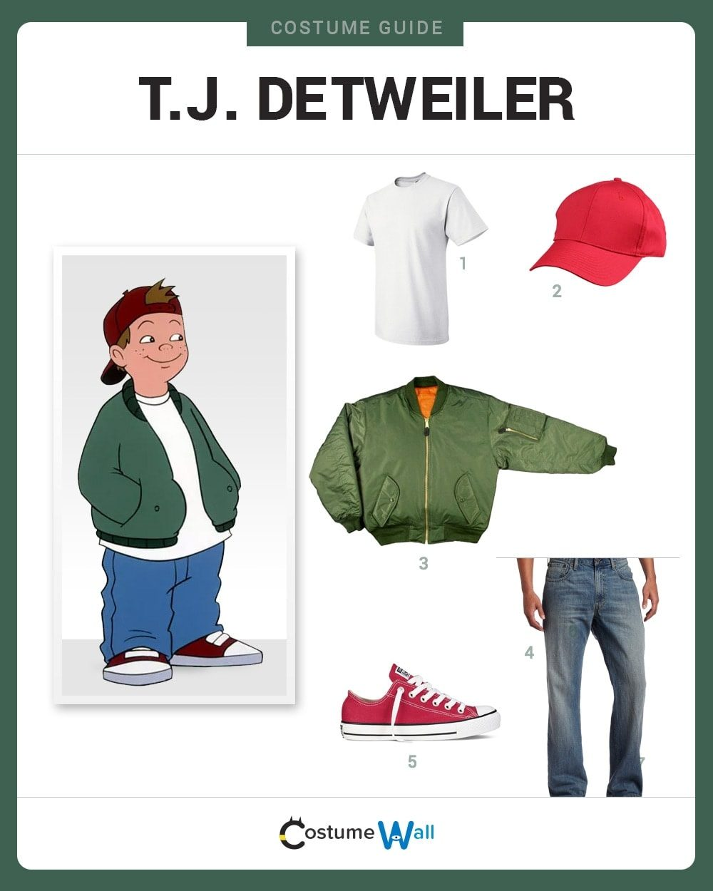 dress like t.j. detweiler costume | halloween and cosplay guides