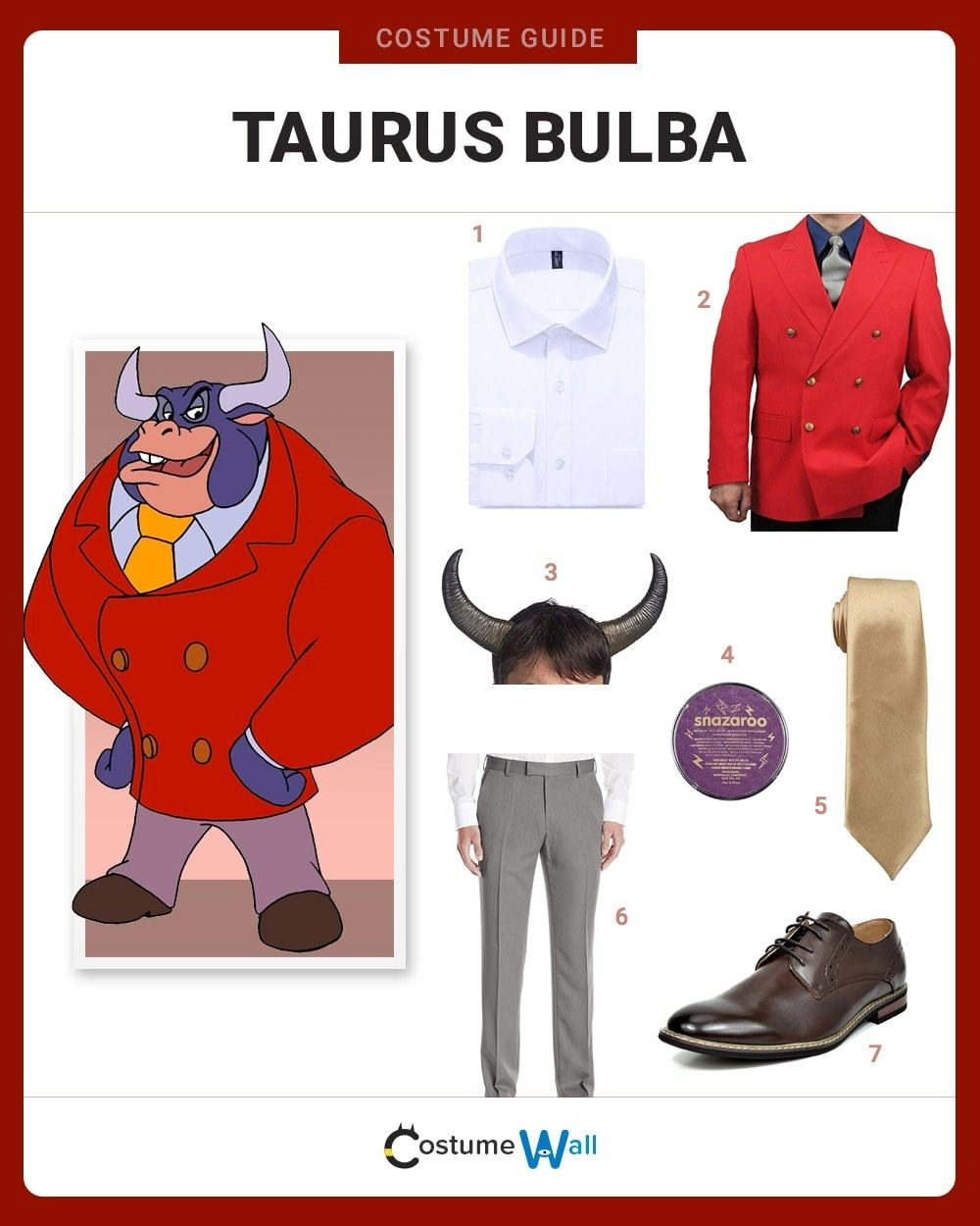Taurus Bulba Costume Guide