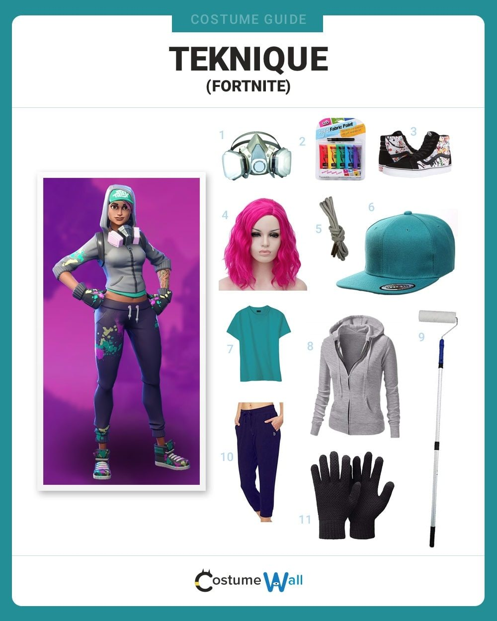 Teknique  Costume Guide
