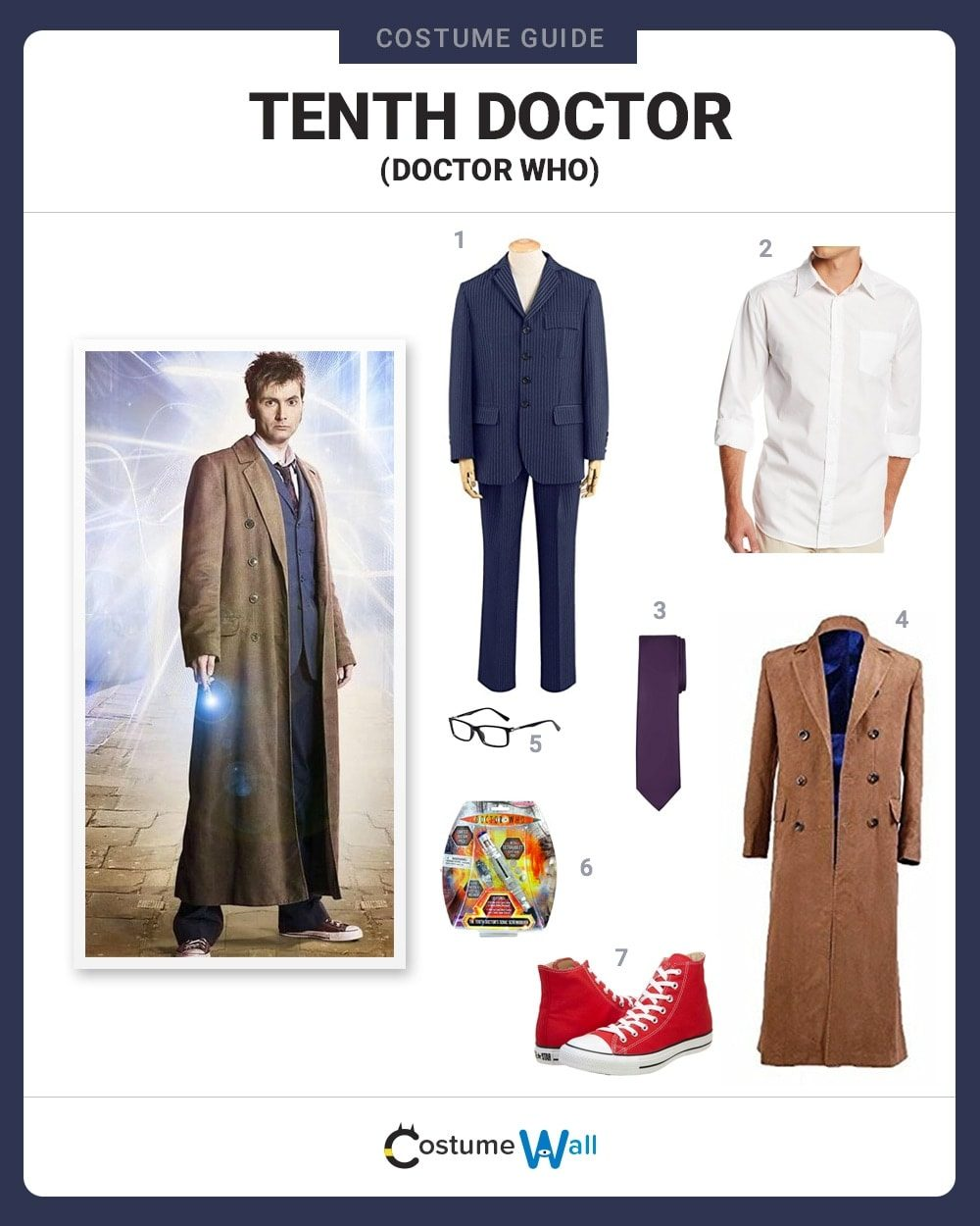 Tenth Doctor Costume Guide