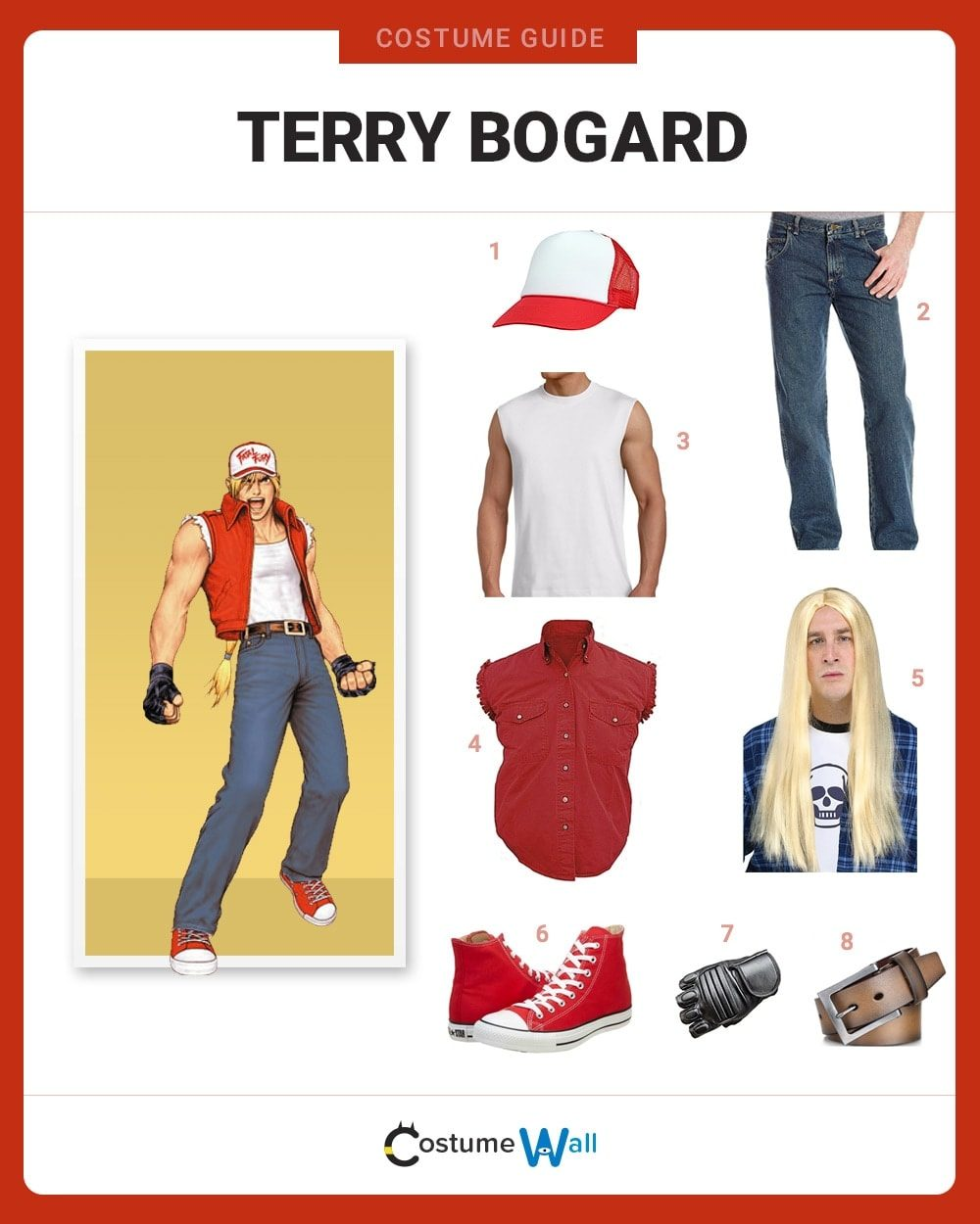 Terry Bogard Costume Guide
