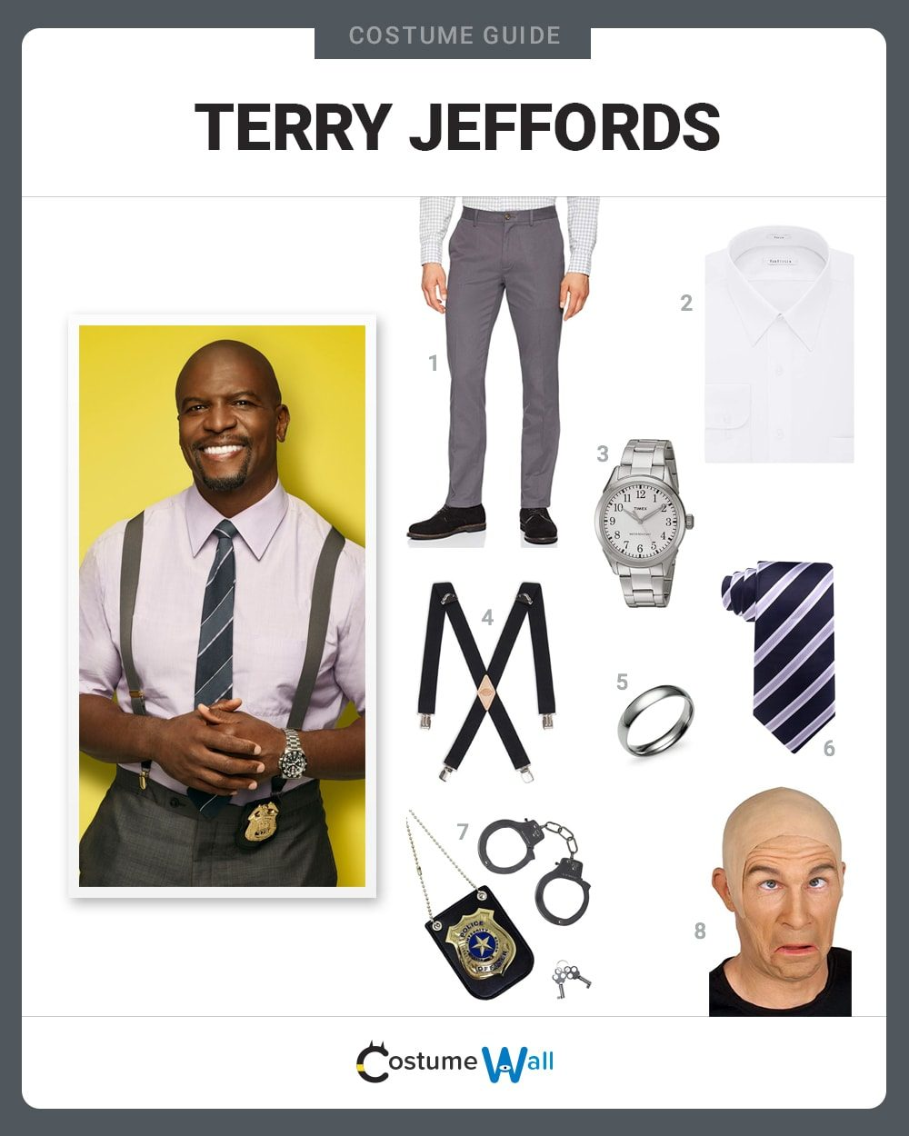 Terry Jeffords Costume Guide