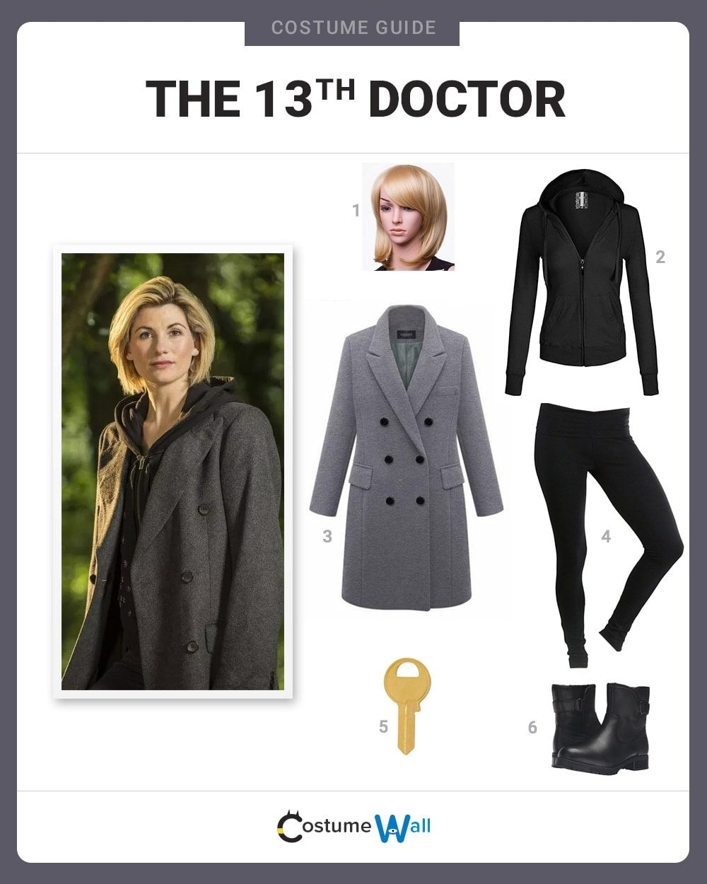 Thirteenth Doctor Costume Guide
