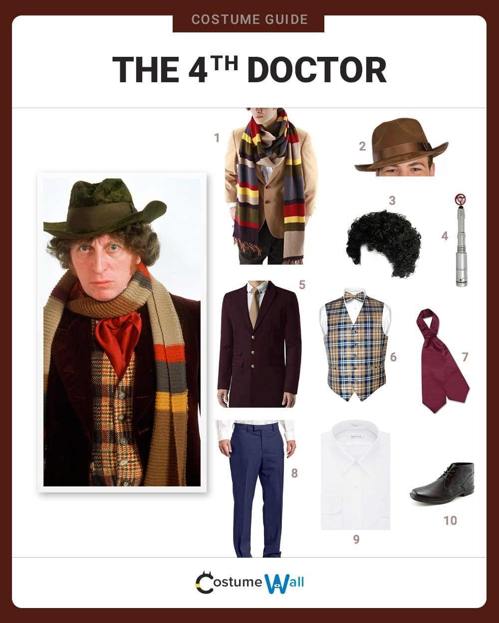 Fourth Doctor Costume Guide