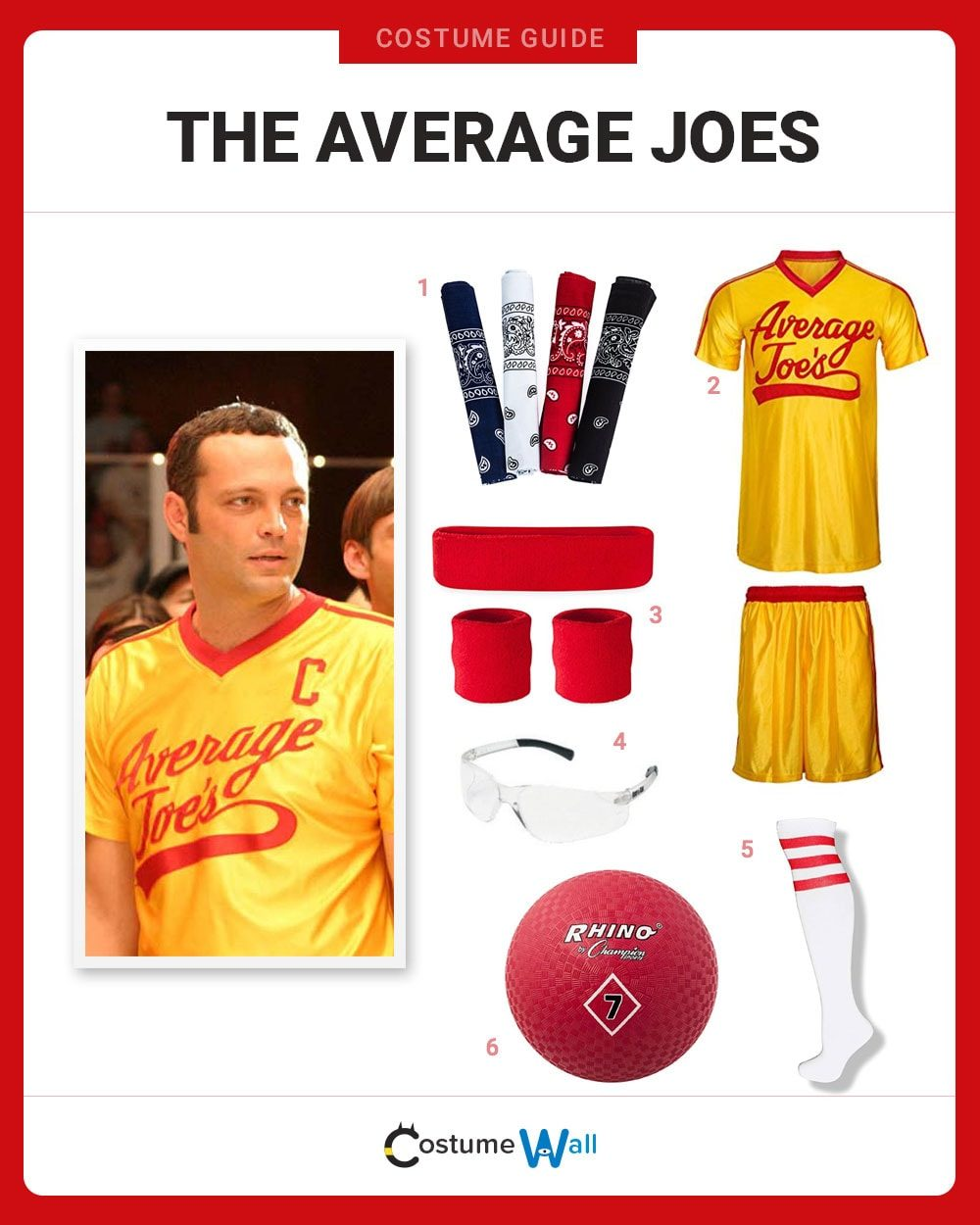 The Average Joes Costume Guide
