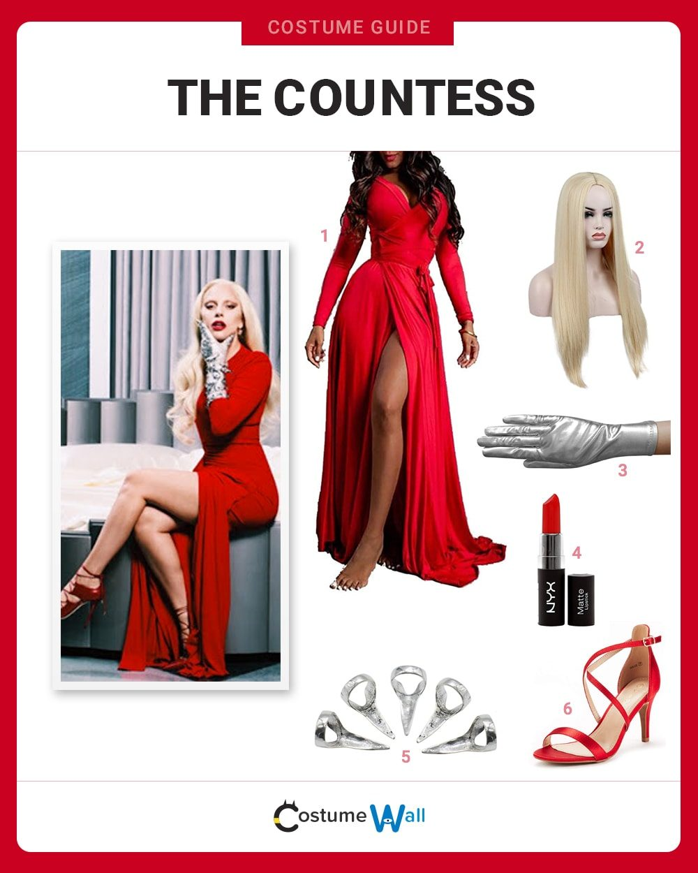 The Countess Costume Guide