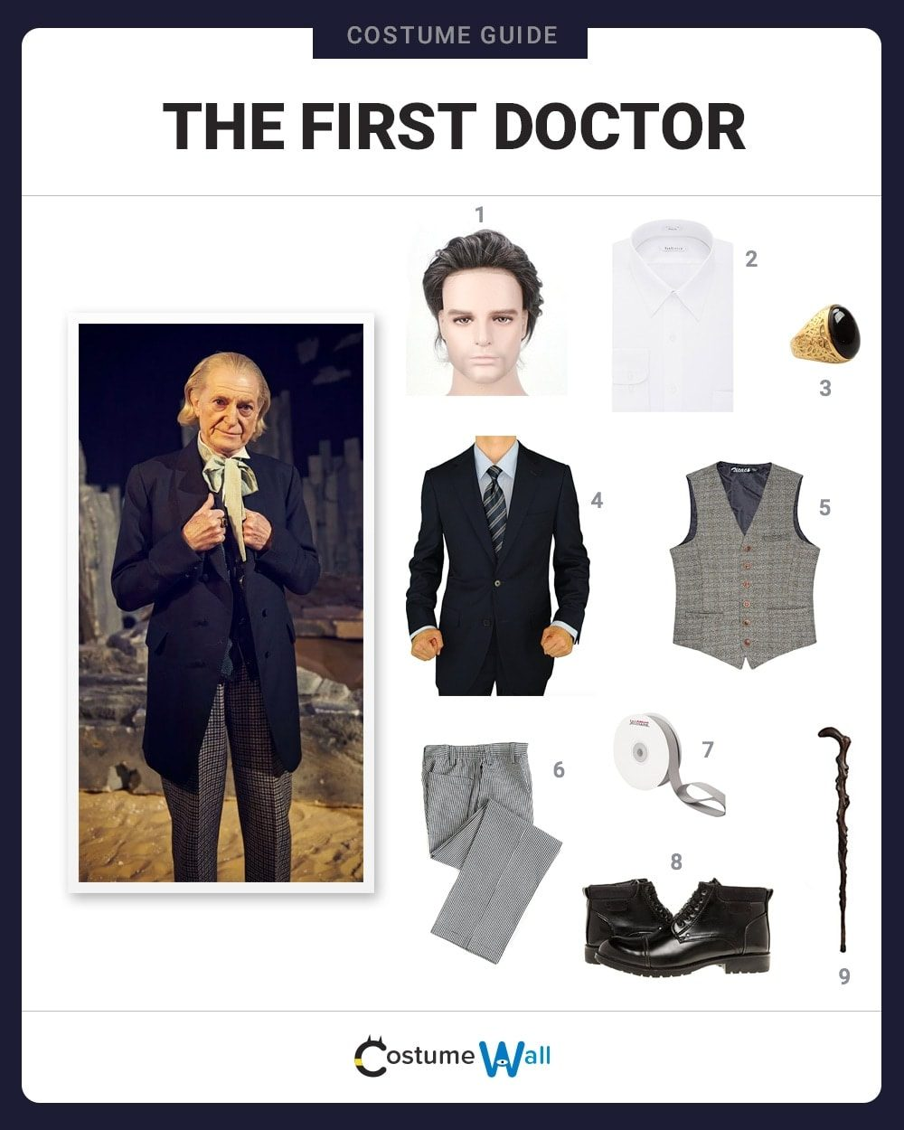 First Doctor Costume Guide