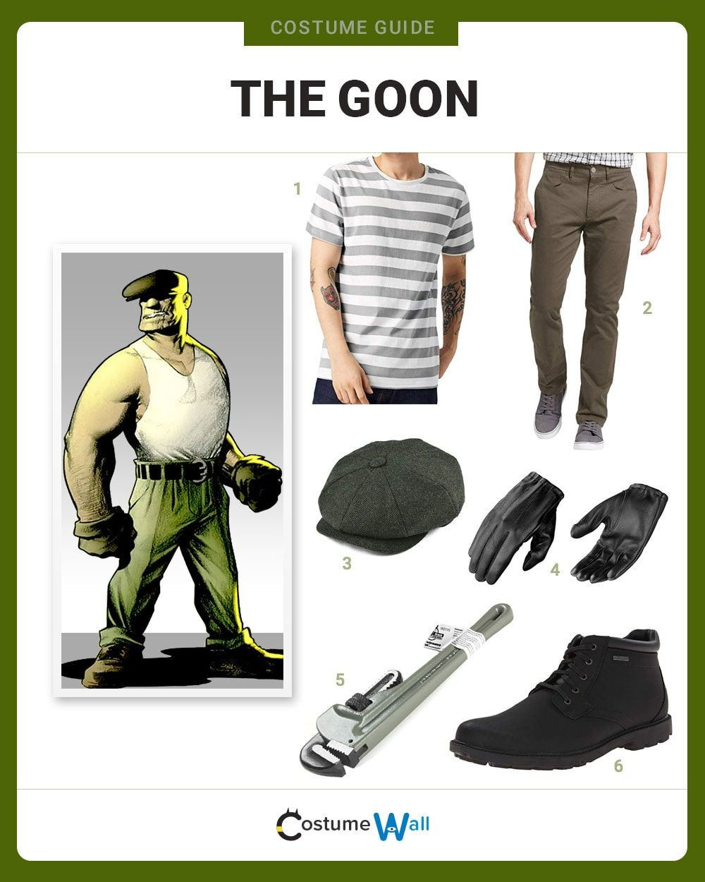 The Goon Costume Guide