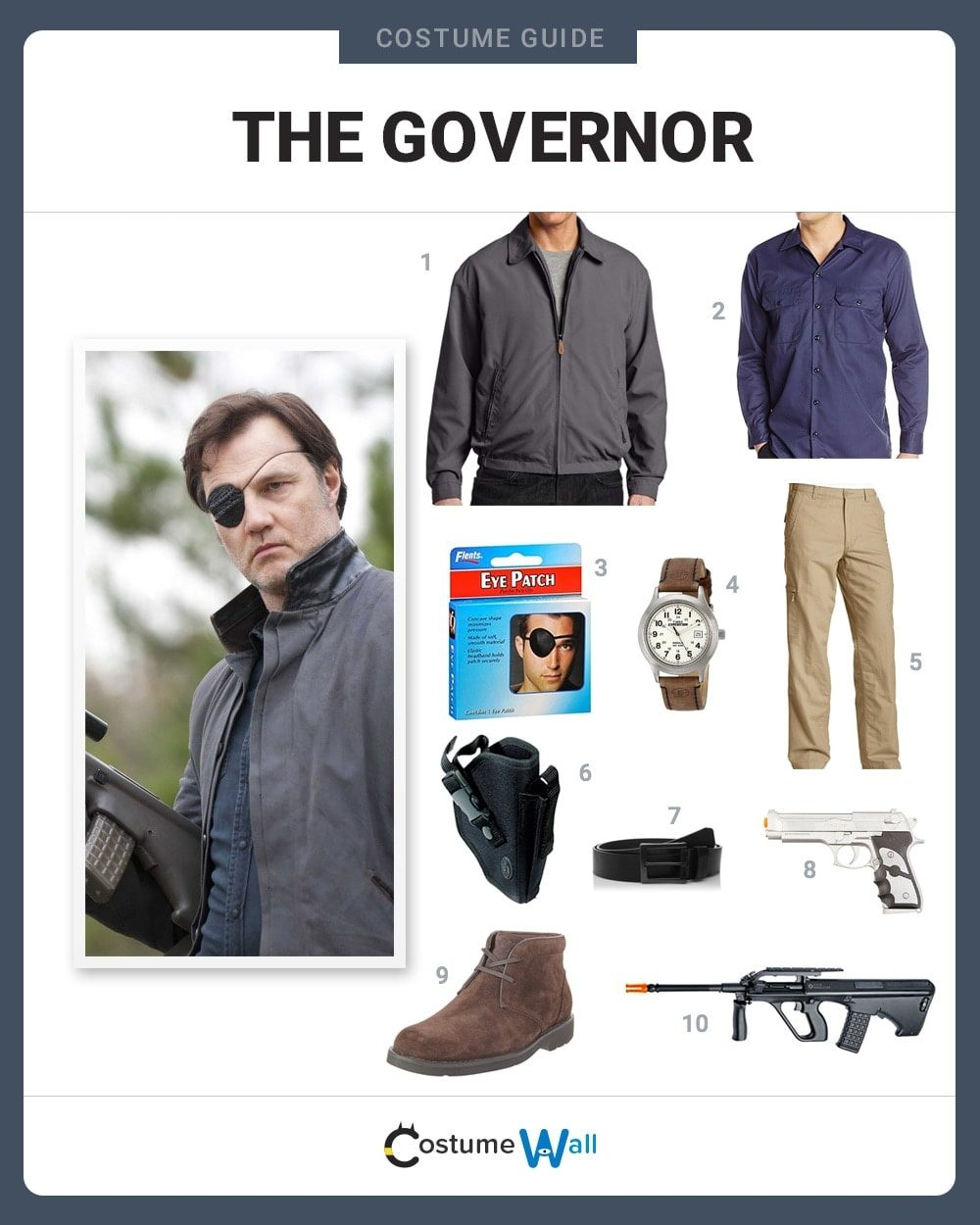 The Governor Costume Guide