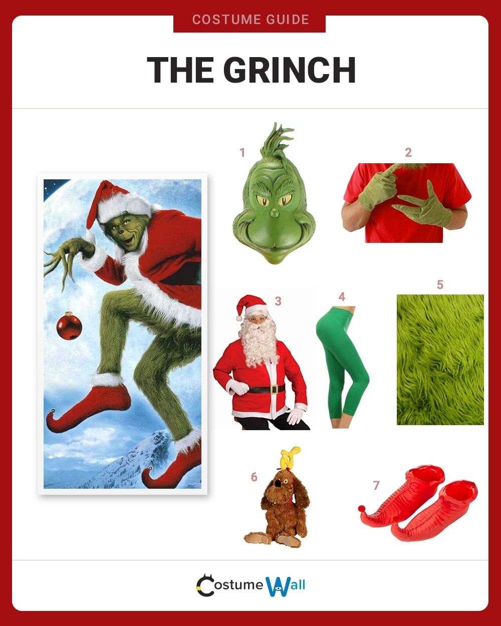 The Grinch Costume Guide