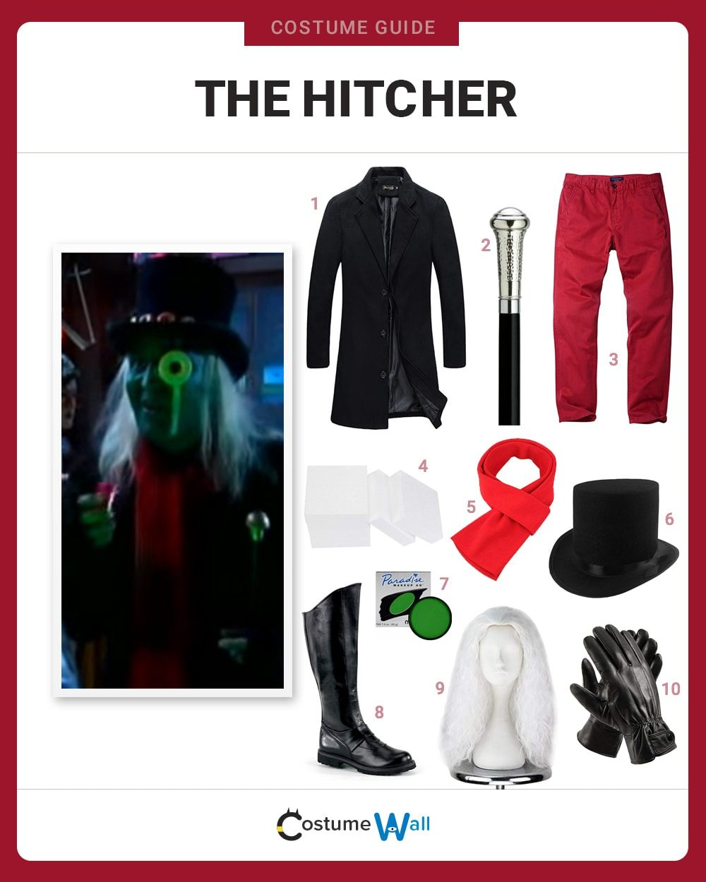 The Hitcher  Costume Guide