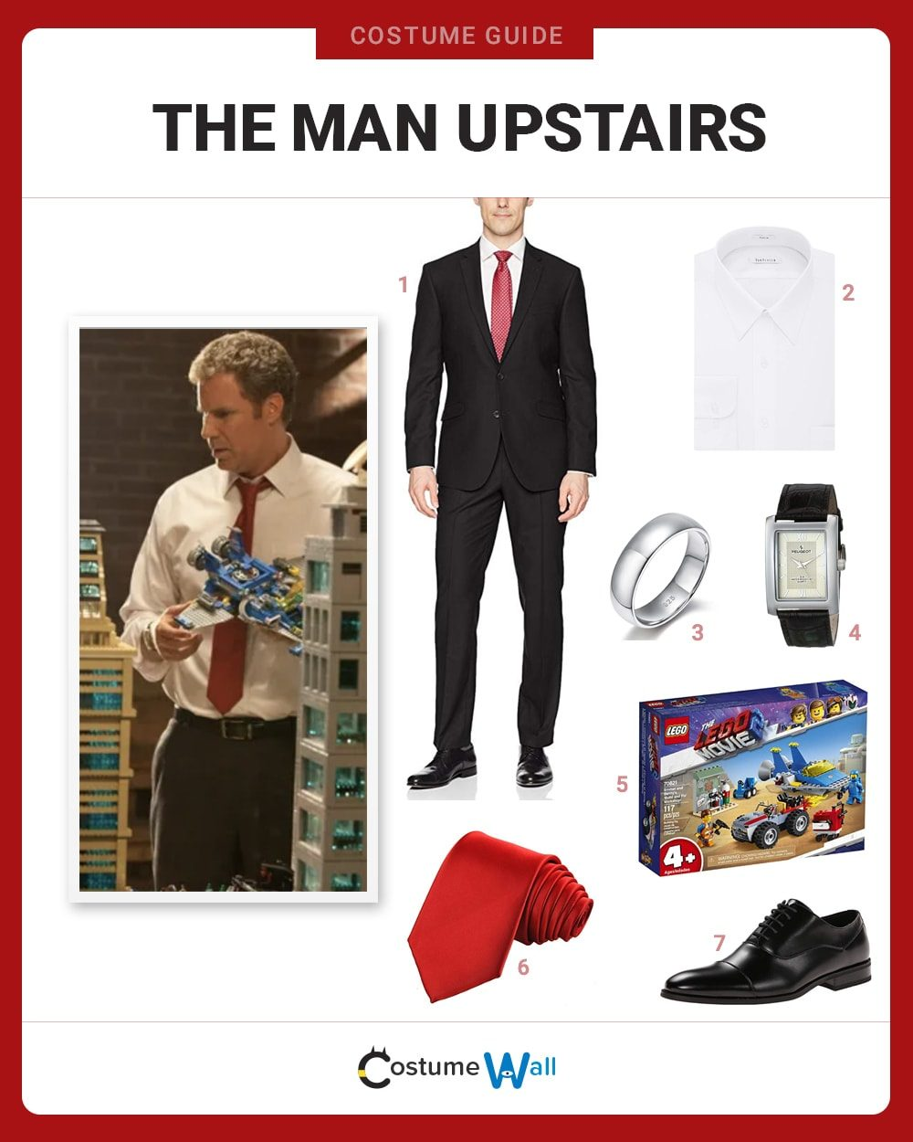 The Man Upstairs Costume Guide