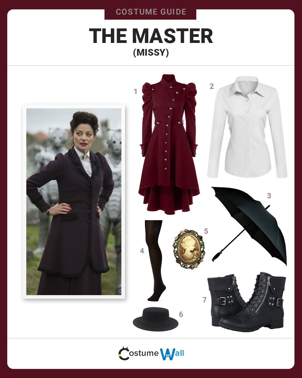 The Master (Missy) Costume Guide