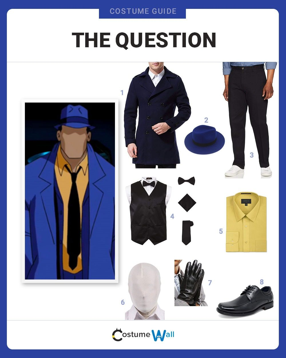 The Question Costume Guide