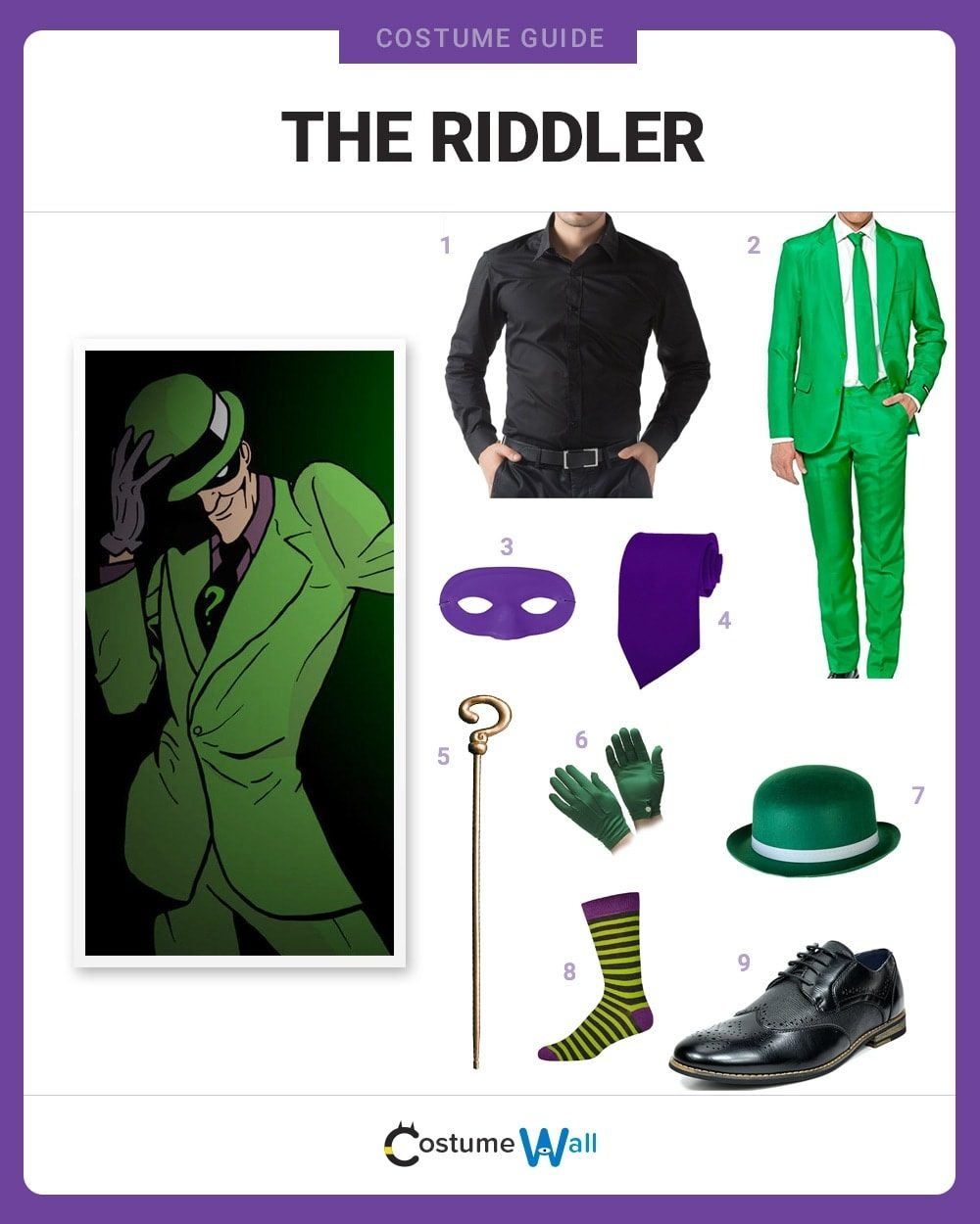 The Riddler Costume Guide