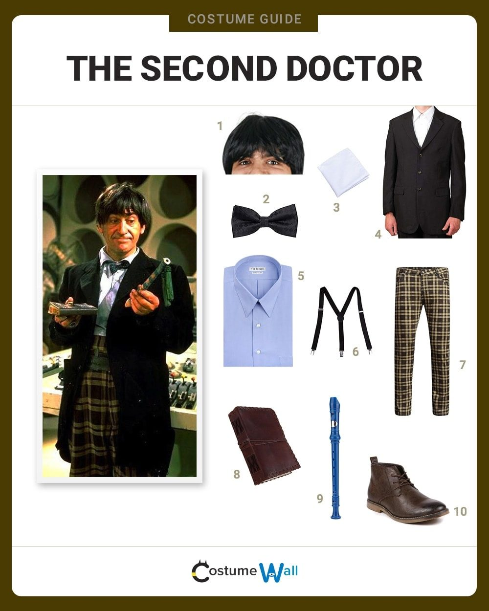 Second Doctor Costume Guide