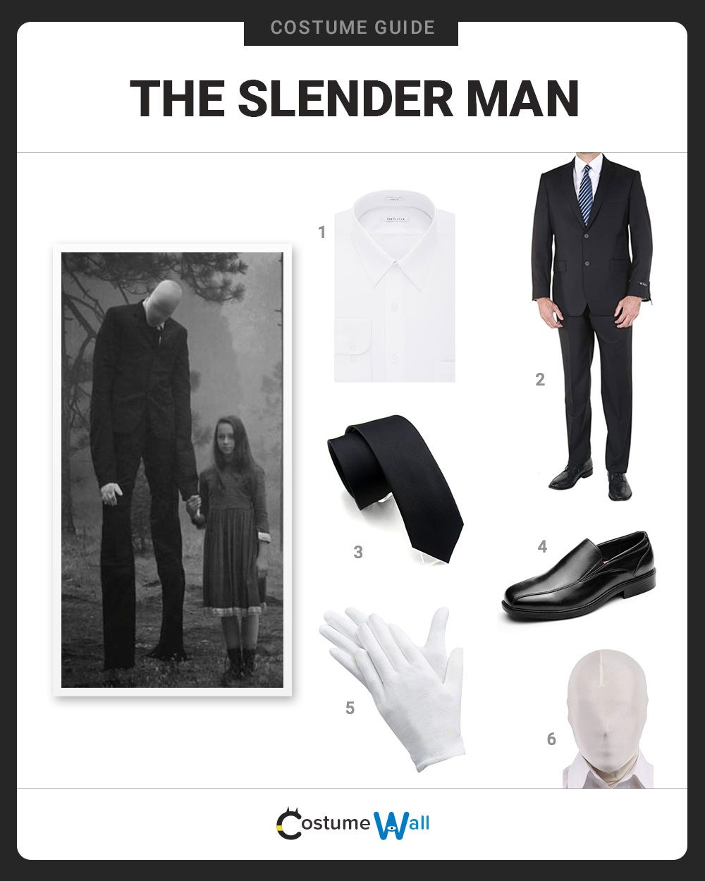 The Slender Man Costume Guide