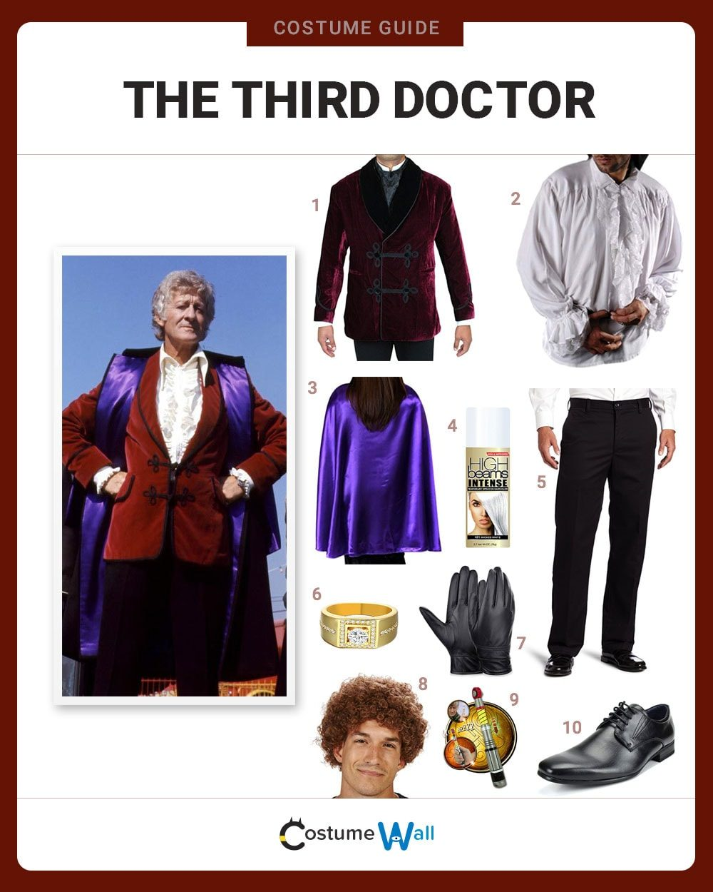 Third Doctor Costume Guide