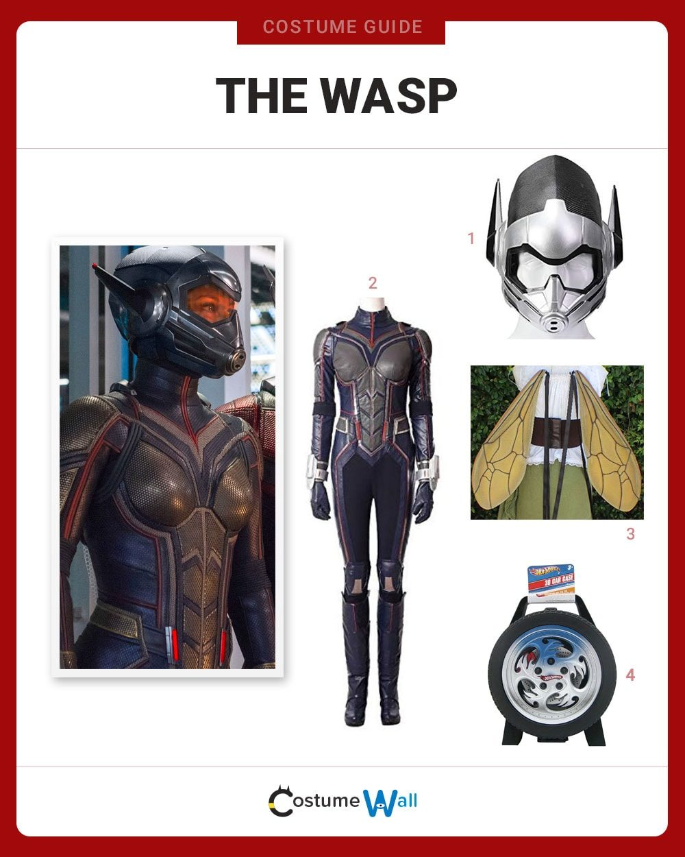The Wasp Costume Guide