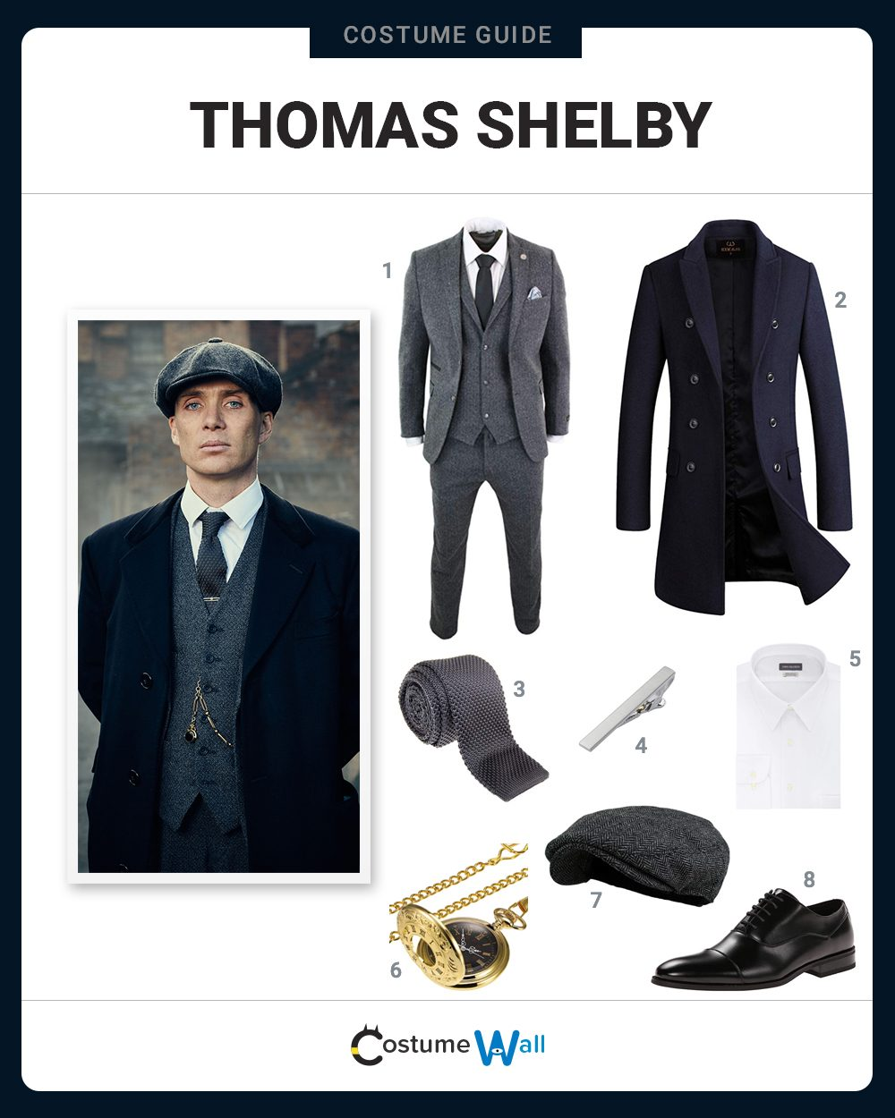 Thomas Shelby Costume Guide