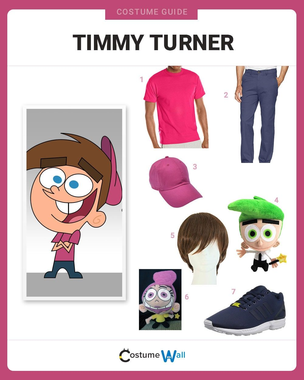Timmy Turner Costume Guide
