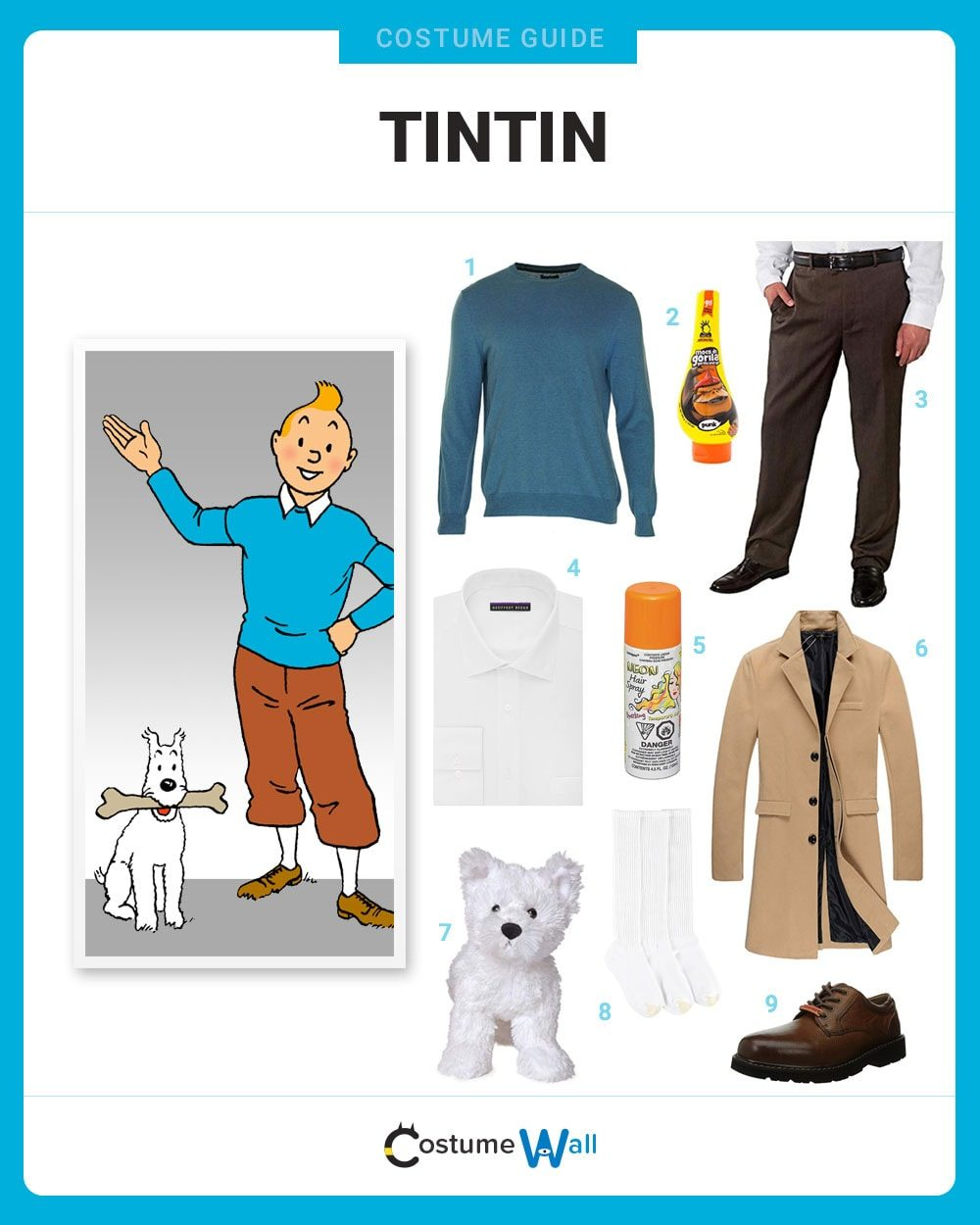 Tintin Costume Guide