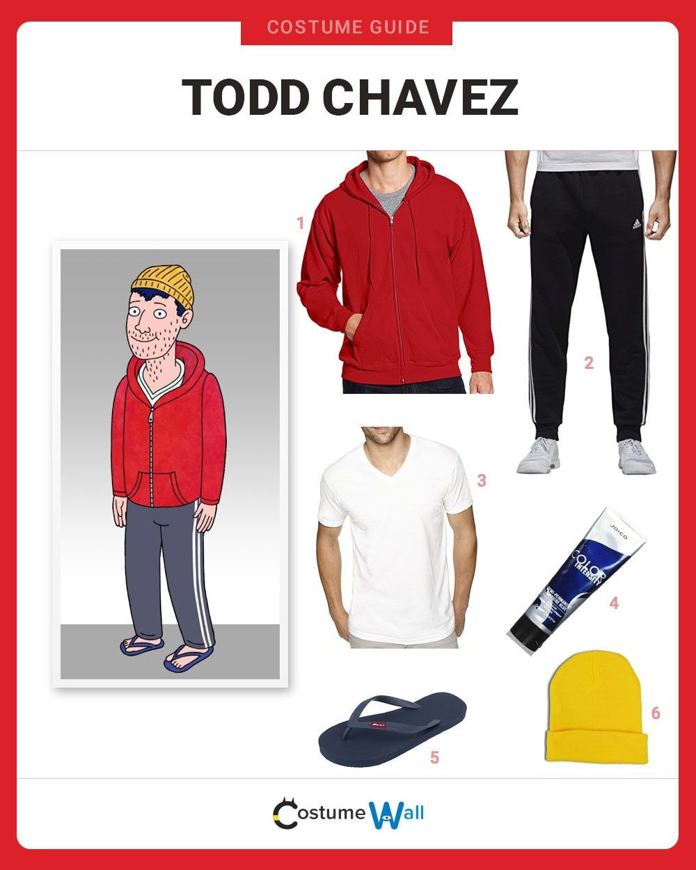 Todd Chavez Costume Guide