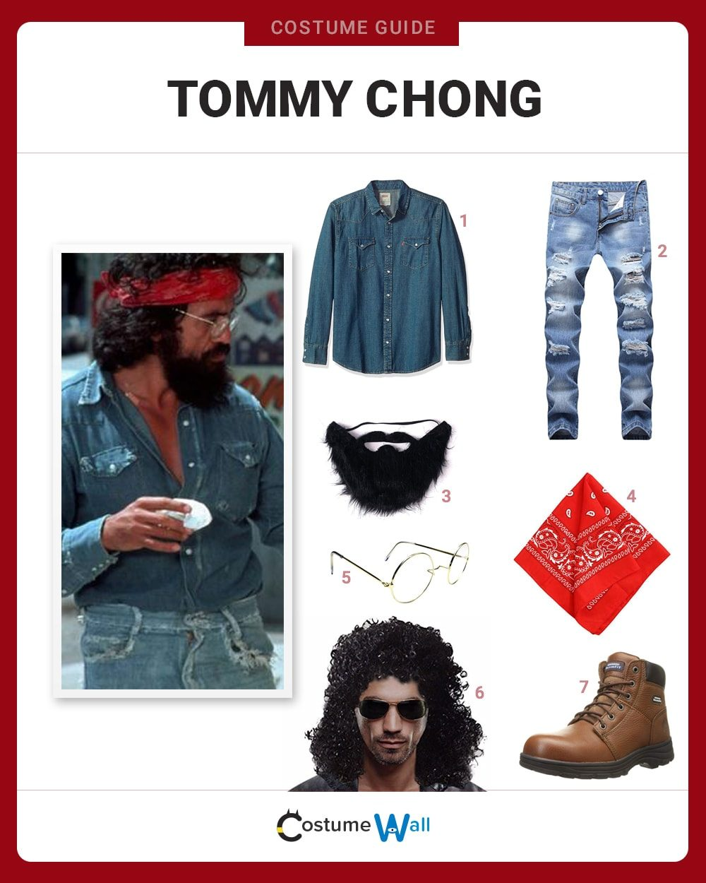 Tommy Chong Costume Guide