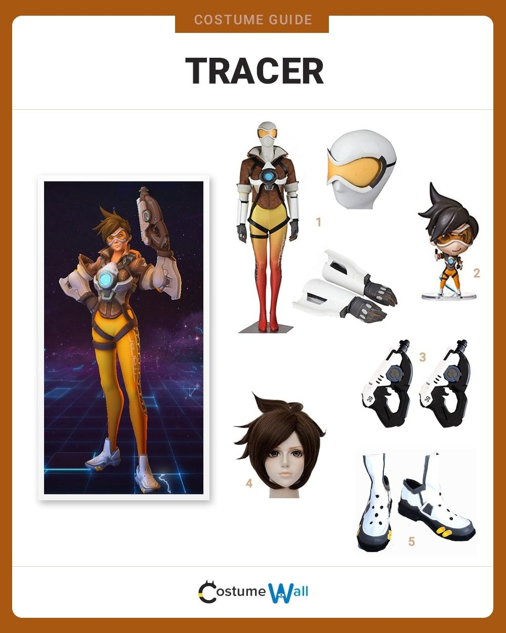 Tracer Costume Guide