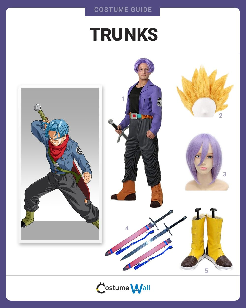 Trunks Costume Guide