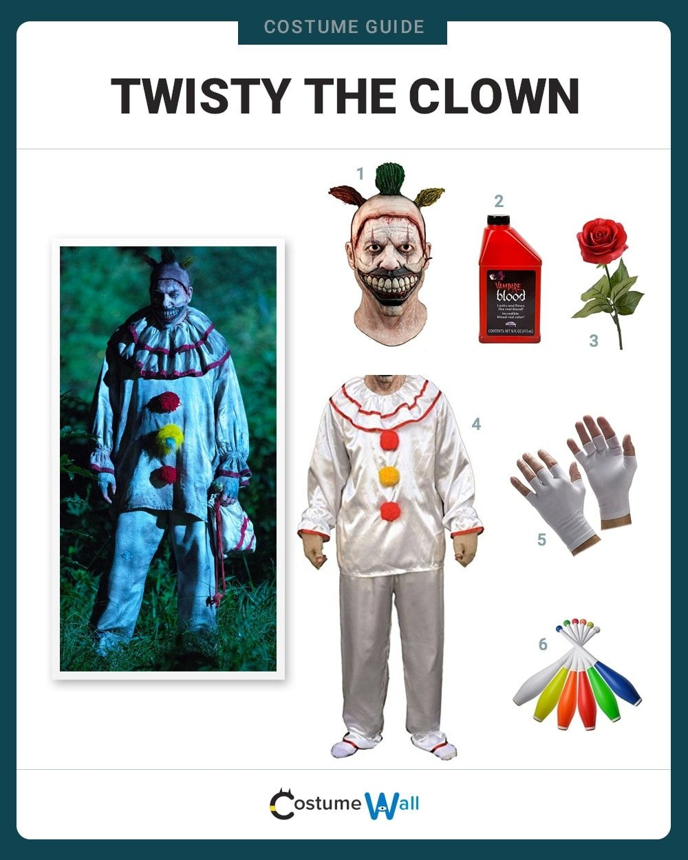 Twisty Costume Guide