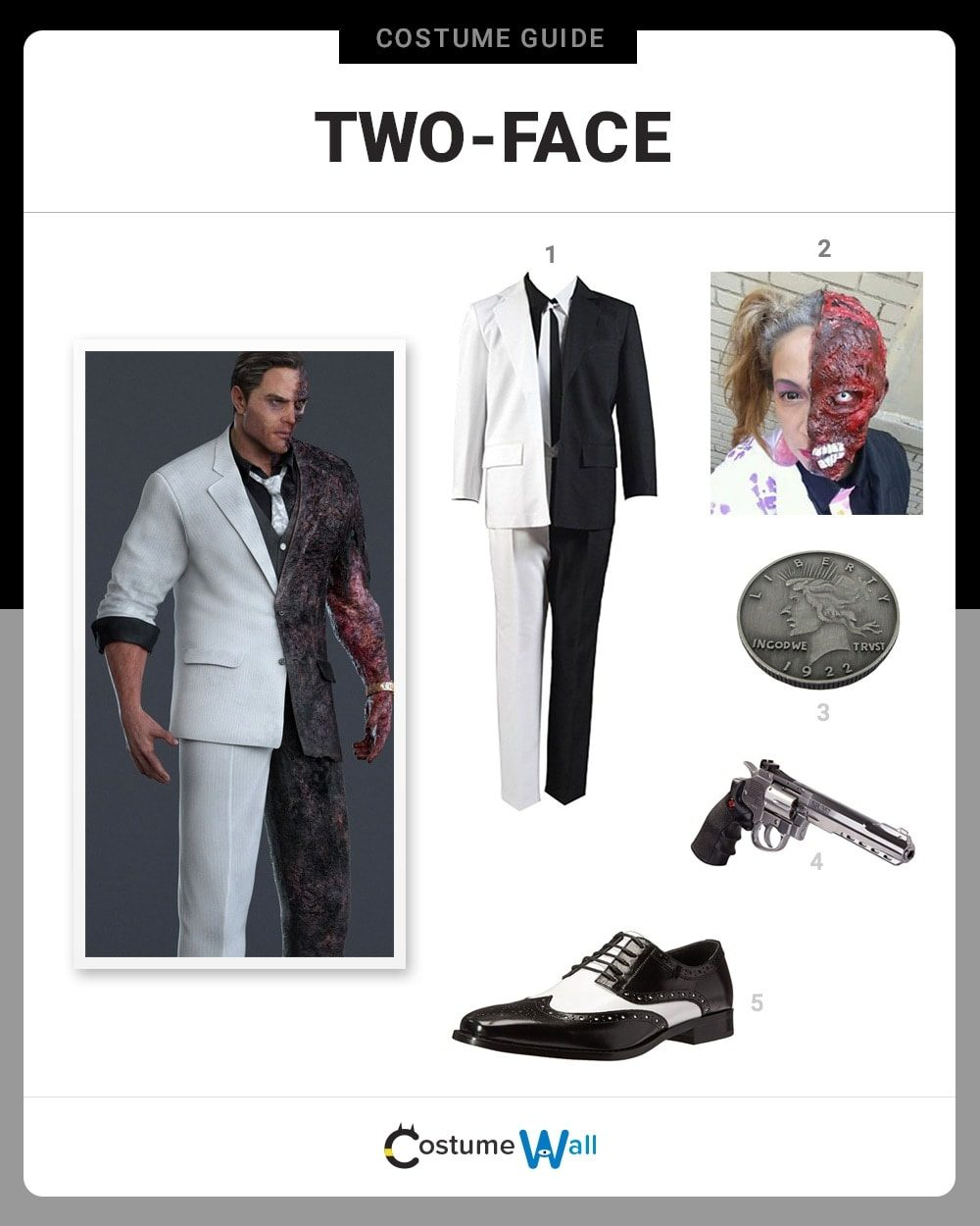 Two-Face Costume Guide
