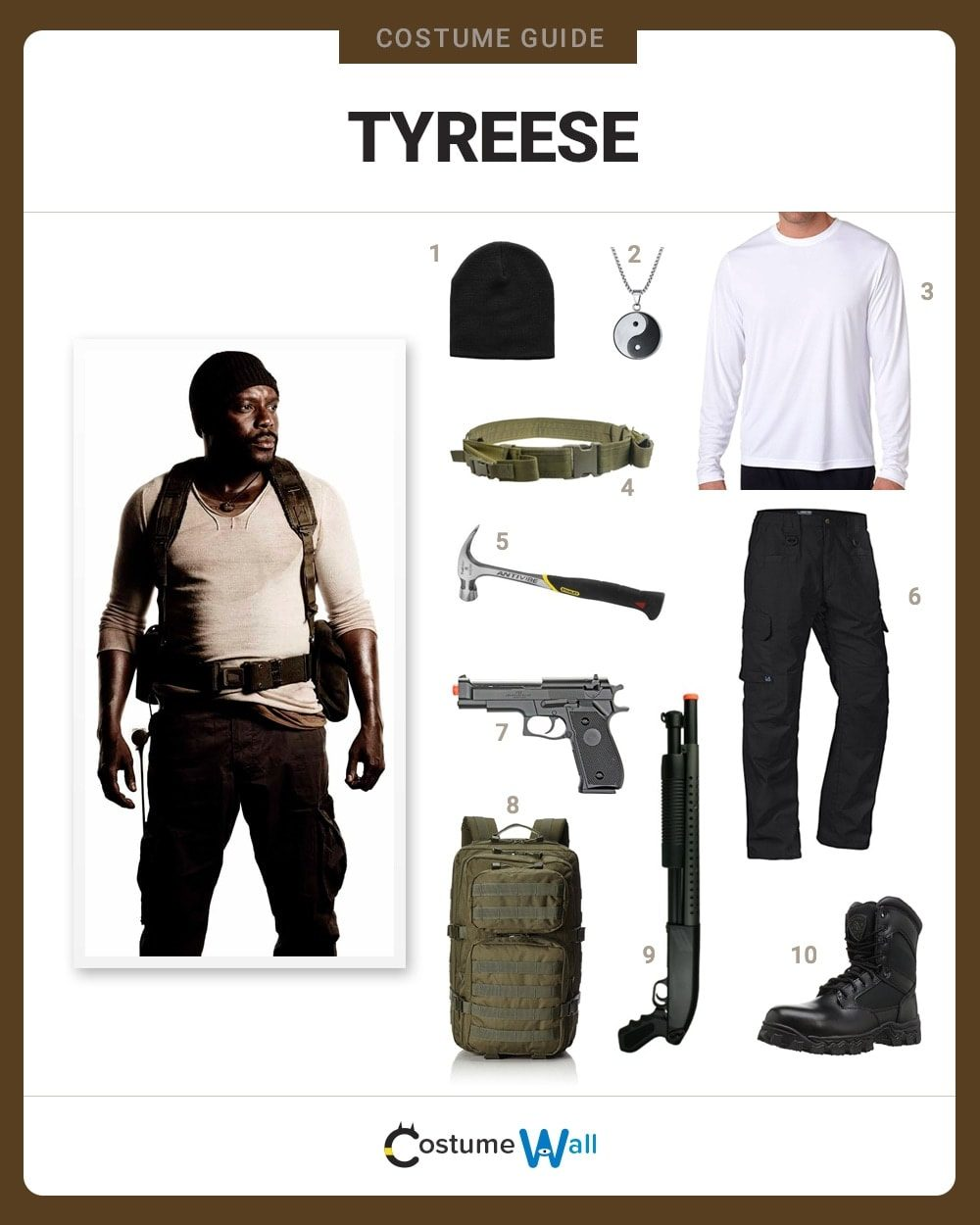 Tyreese Costume Guide