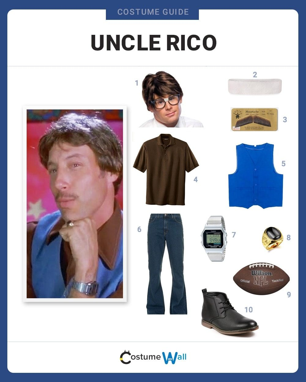 Uncle Rico Costume Guide