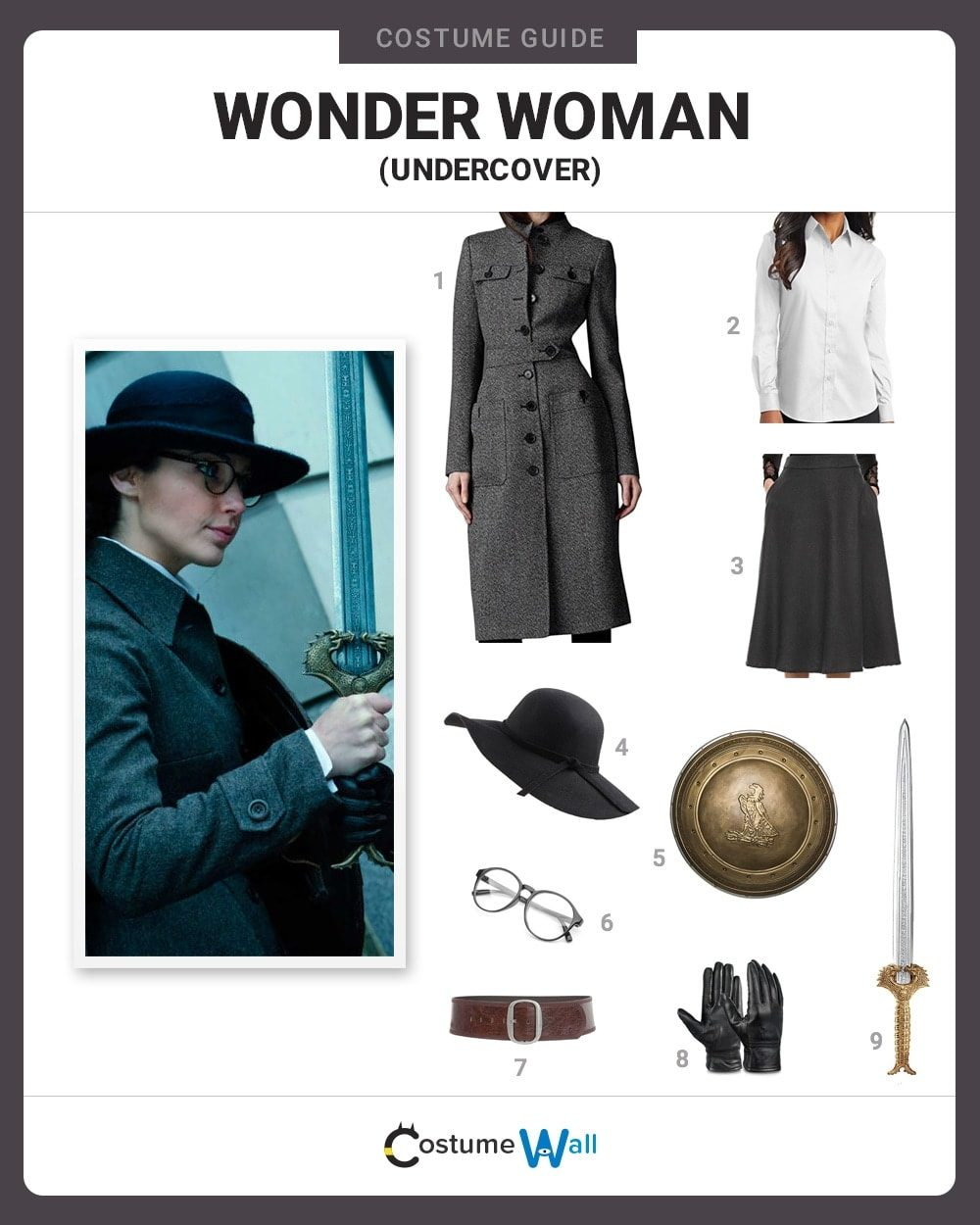 Wonder Woman (Undercover) Costume Guide