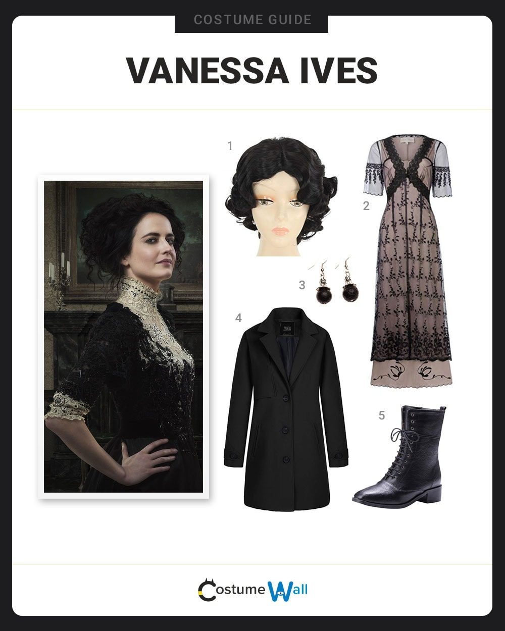 Vanessa Ives Costume Guide