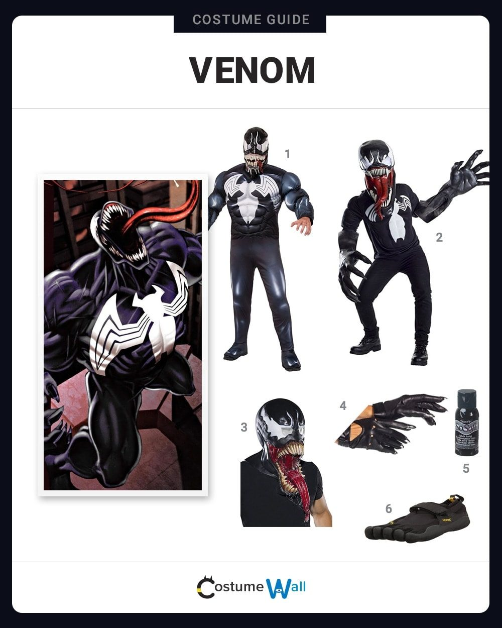 Venom Costume Guide