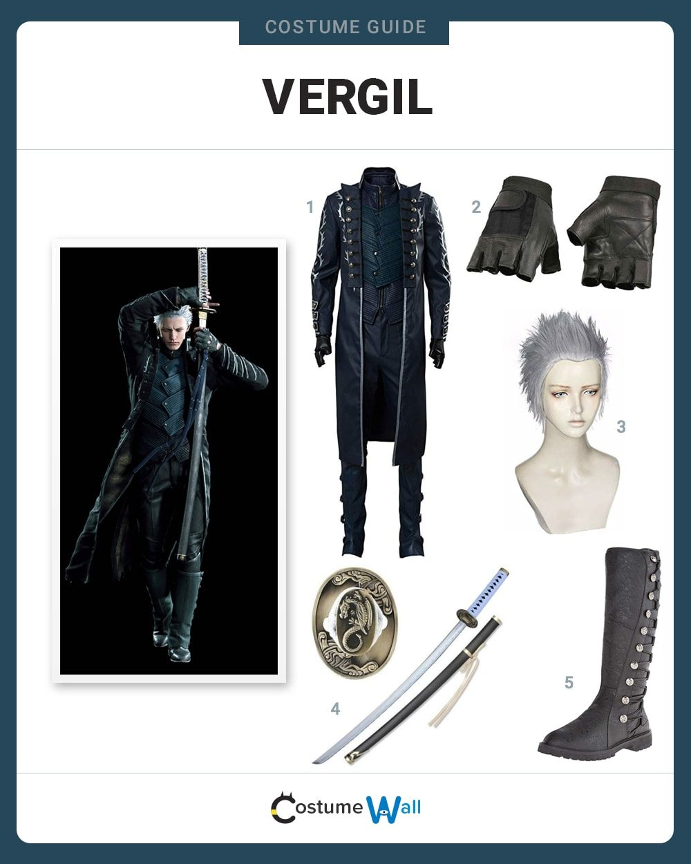 Vergil Costume Guide